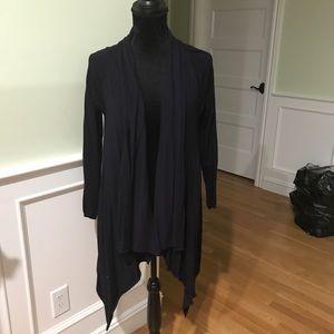 ZARA Draped Front Cardigan